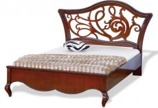 """Ліжко 120 узголів'я з різьбленням """"Капрі"""" (Capri)"""