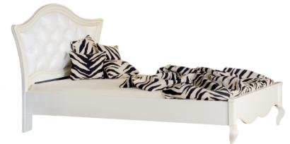"""Ліжко 120 узголів'я оббите з гудзиками """"Капрі"""" (Capri)"""