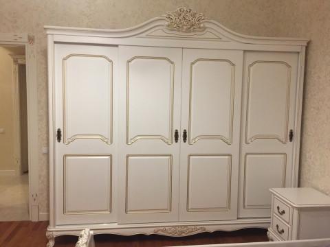 Шкаф 4-х дверный под заказ (Мод 99)